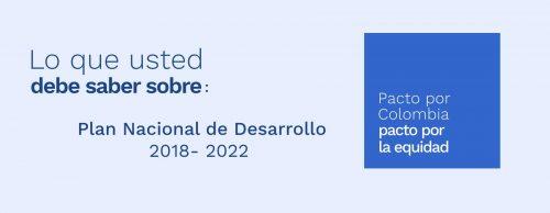Texto definitivo Plan Nacional de Desarrollo