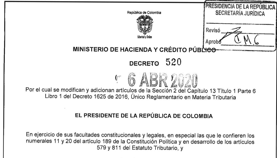 Decreto de Presidencia amplía hasta junio el plazo para declarar renta
